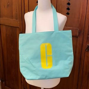 Clinique reversible tote bag